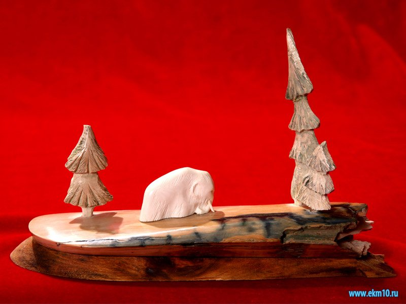 Скульптурная композиция «Мамонт»