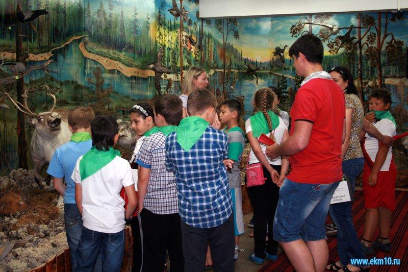 Обзорные экскурсии для детей из летних пришкольных лагерей