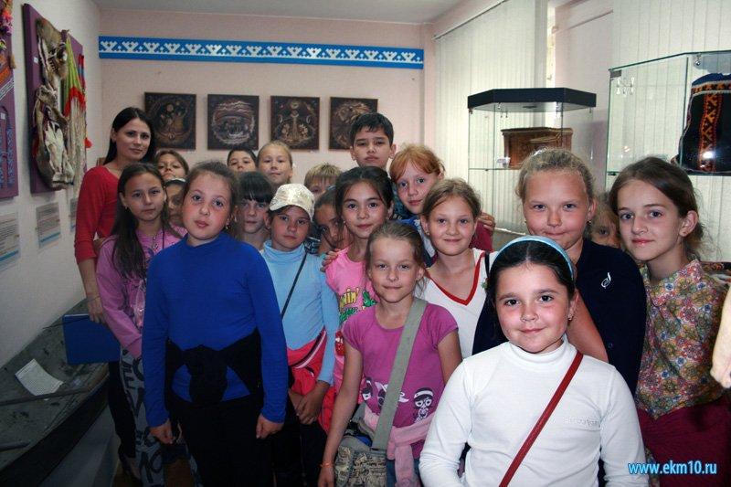 Тематические экскурсии в Эколого-краеведческом музее