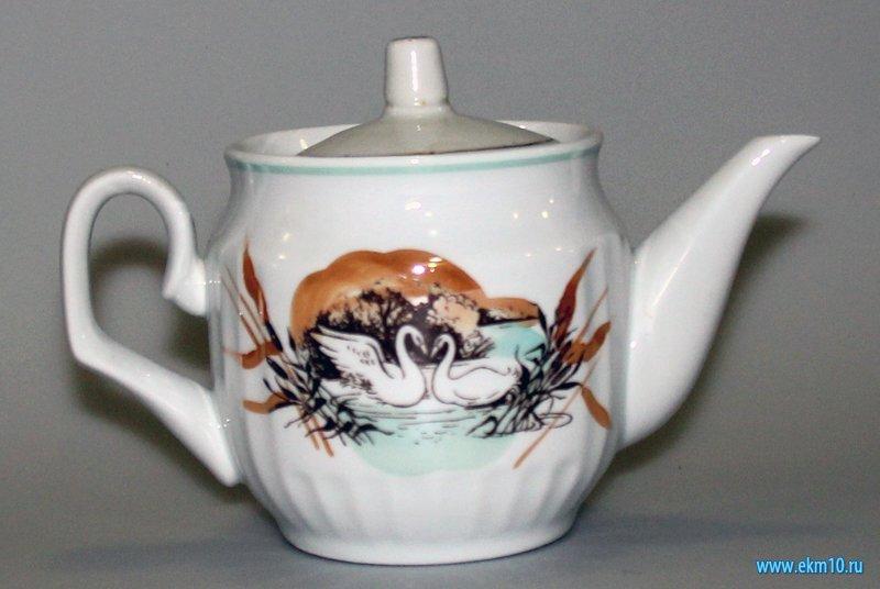 Чайник запарник с крышкой