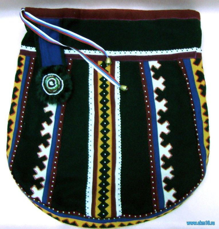 Сумка традиционная ненецкая для рукоделия