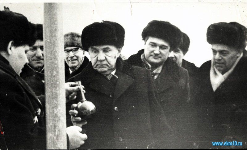 На буровой В.И. Муравленко