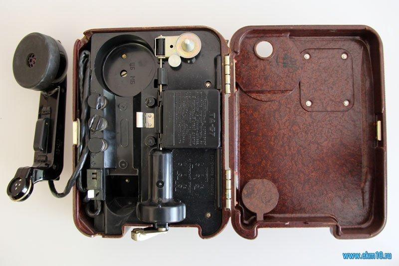 Переносной полевой телефонный аппарат «ТА-57»