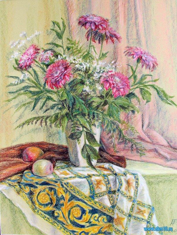 «Натюрморт с хризантемами»