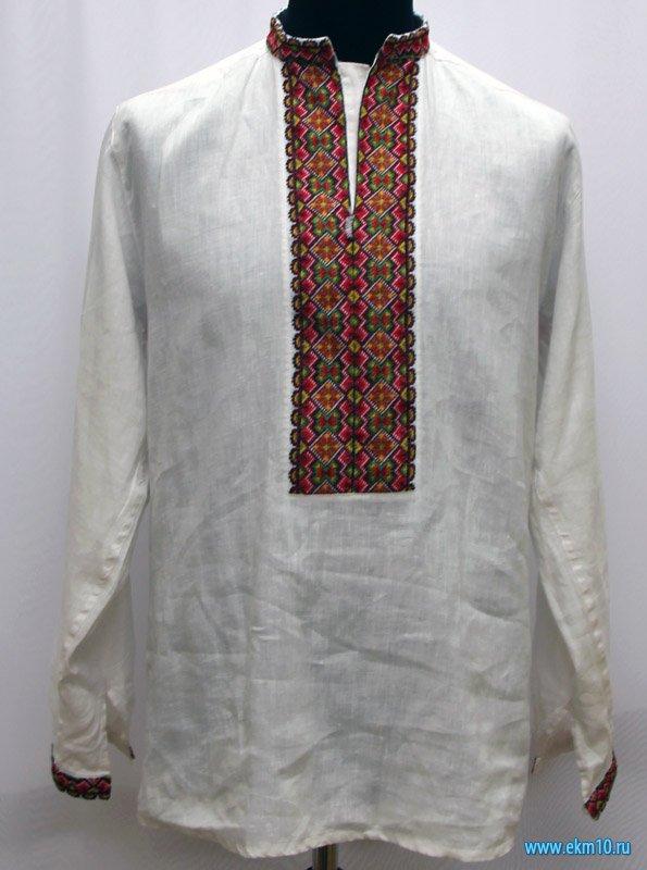 Рубаха мужская (сорочка) украинская