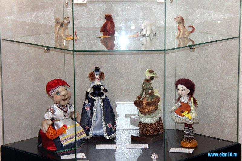 Открытие выставки «Тайны кукол»